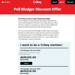 45% off Crikey Annual Subscriptions ($105 p.a)