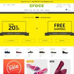 CROCS 20% off + Free Shipping Sitewide - Includes Clearance Items - EXTENDED 1 DAY