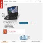 """Lenovo ThinkPad E460 $829 w/ 14"""" FHD, i7-6500U, 8GB RAM, 1TB HDD, R7 M360"""