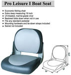 50% off Pro Leisure I Boat Fishing Seat - Grey/Blue (86505GB) for $59 Delivered @ Squizzy's Online