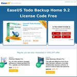 Free - EaseUS Todo Backup Home 9.2 (Save $29.95)