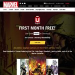 Marvel Unlimited - 1 Month Free Access with Code - 20,000 Comics