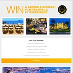 Win a Trip to Cannes Film Festival & Monaco F1 GP 2018 Worth up to $10000 from MSDA