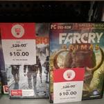 [PC] Farcry Primal/The Division $10 EA @ BigW (was $25)