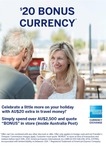 AU $20 Bonus Currency When You Spend over AU $2,500 @ FX4You (AMEX Currency Exchange)