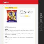 Cadbury Creme Egg Bag 6 pack $5 (Save $3) @ Coles