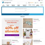 Up to 40% off Sitewide @ Vistaprint
