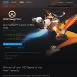 Overwatch: Standard $44.95, and Game of The Year $54.95 on Battlenet - Anniversary Celebration