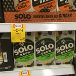 67% off Solo Brewed Soda 4x330ml Any-2-for-$4 @ Coles [In-store]