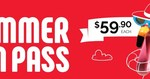 AMF Bowling - 50 Days of Summer Bowling for $59.90* (Student / Concession Card Rec'qd) - 1500 Only