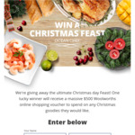 Win a $500 Woolworths Online Voucher from Pacific West