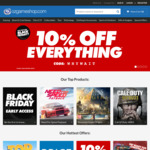 10% off Everything at OzGameShop