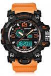 Sanda 742 Orange Watch - USD $9.99 / AUD $13.16 [Was AUD $19.75] @ GearBest
