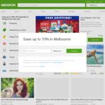 $20 off $49+ Spend @ Groupon Via App