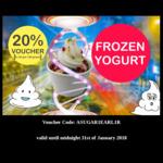 [NSW] 20% Discount Frozen Yoghurt @ Yoghi (Burwood, NSW)