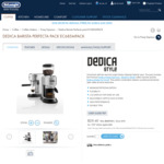 DeLonghi Dedica Barista Perfecta Pack - $236.43 Delivered @ DeLonghi