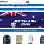 MyProtein Australia Day Sale - up to 70% off + 22.5% off Code