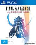 [PS4] Final Fantasy XII: The Zodiac Age $25 @ Big W