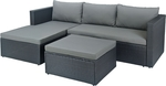 3 Piece Outdoor Corner Lounge Setting $329 @ Bunnings (Was $400)