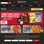Pizza Hut 2 Large Pizzas $15 Pickup, 20% off Any Large Pizza