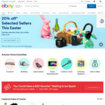 eBay 10% off Sitewide ($75 Min Spend)