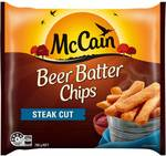 McCain Beer Batter Steakhouse Chips 750g - $1.99 @ Woolworths