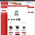 AMD Ryzen 7 2700X $422, 1700 $287, Ryzen 5 2600X $287, 2400G $202, 1600 $179, etc @ MSY
