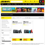 Nintendo Switch Console (Both Colours) $389 @ JB Hi-Fi