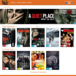 2x $5.00 Credit Promo Codes - valid at Video Ezy Express Kiosks - for DVD BluRay Movie Rental Hire