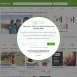 Groupon Extra 10% off Sitewide Plus 7% Cashback @ Shopback