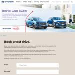 Test Drive a Hyundai Santa Fe or Tucson & Receive 5,000 Velocity Points @ Hyundai