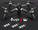 MJX Bugs 5W Quadcopter with 3 Batteries US $173 (AUD $242.20) @ Tomtop