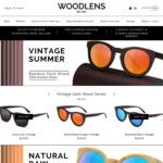 70% off Handmade Bamboo Sunglasses Storewide @ Woodlens.com.au