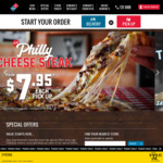 Traditional Pizzas Pickup from $7.95 Each @ Domino's