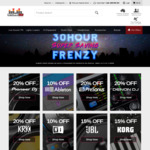 Store DJ Frenzy Sale - up to 30% off - E.g: ATH-M50x $156