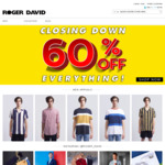 Now 70% instead of 60% off Everything (Closing down) @ Roger David