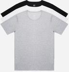 90 Fun Antibacterial Short Sleeved T-Shirt (2 Pieces) 80% off - $7.50 + $7 Ship to Australia + Exclusive Sales @ Vertex Living