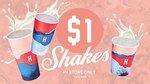 [VIC,WA,NSW] $1 Shakes Today @ Huxtaburger