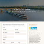 Win a Beautiful Bordeaux River Cruise for 2 Worth $23,780 from Scenic
