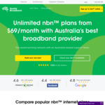 Aussie Broadband - 1st Month Free on All NBN Plans (New Customers Only)