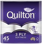 [Back Order] 45 Pack Quilton 3ply Toilet Paper $20 (Free Prime Shipping or for Orders over $49) @ Amazon AU