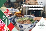 [VIC] Free Signature Beef Noodle, Fan + Recycle Bag, Friday 11/1 from 4pm-8pm @ Lanzhou Beef Noodle Bar (South Yarra)