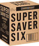 Super Saver Six Chardonnay White Wine 2012 750ml Case of 6 $18 Pick up or Free Delivery for eBay Plus @ Dan Murphy's eBay