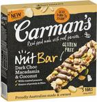 Carman's Muesli Bar Varieties 160g-270g $2.80 + Delivery (Free with Prime/ $49 Spend) @ Amazon AU