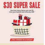 [NSW] $30 Fill Your Basket Sale @ Mr & Mrs Jones, Rosebery