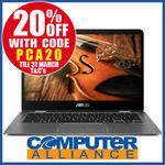"Asus Zenbook Flip UX461UN 14"" FHD 8GB RAM 256GB SSD MX150 2GB $1119.20 +$15 Delivery (Free w/eBay Plus) @ Computer Alliance eBay"