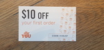 $10 off First Order @ Hey You