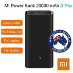 Xiaomi Power Bank 3 Pro 20000mAh USB-C $58.94 + Delivery (Free with eBay Plus) @ Apus Auction eBay