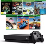 Xbox One X 1TB Console + 6 Game Tokens Bundle + Hot Wheels Forza DLC $599 @ Big W