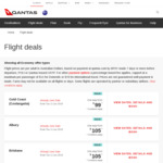 Qantas EOFY Sale: Eg Sydney to Gold Coast $99, Melbourne to Launceston from $105, Adelaide to Melbourne from $109 and More
